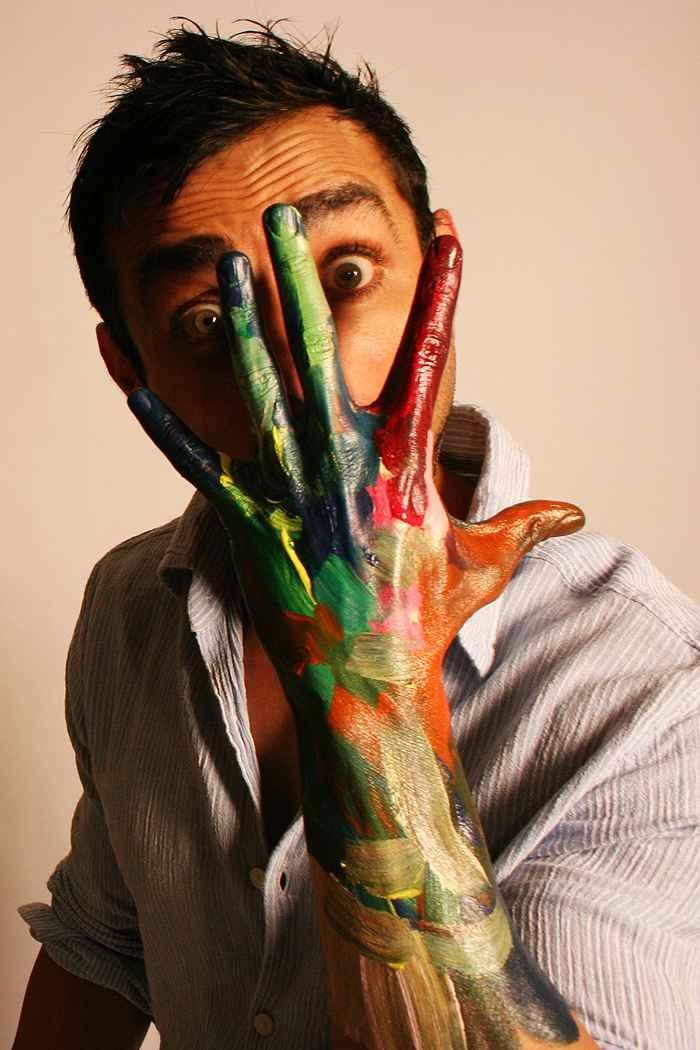 Mayank Anand, Artist.