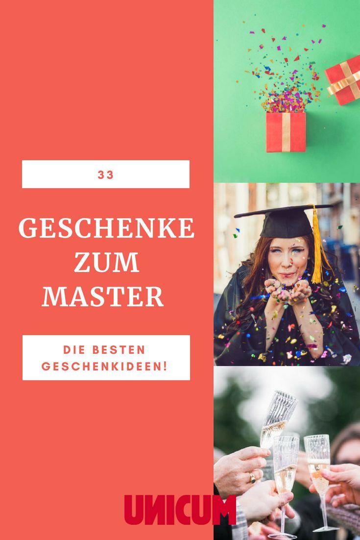 33 Geschenke Zum Master Die Besten Geschenkideen Zum