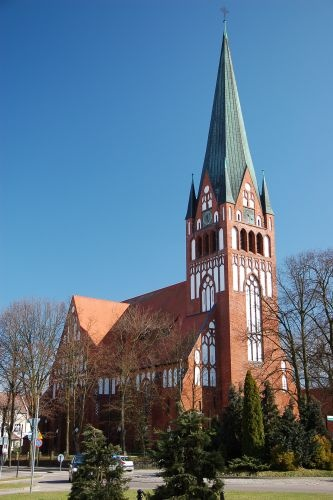 Szczecinek, Church of Nativity of the Blessed Virgin Mary