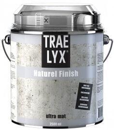 Muurverf achter het fornuis beschermen tegen vuil en vet, Verfblogger.nl Trae Lyx Natual Finish