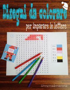 Giochi ed attività per imparare l'alfabeto PF ne ha fatti davvero tanti. Uno molto utilizzato a scuola anche per imparare le operazioni è quello dei disegni da colorare. PF lo ha sempre adorato: sa...
