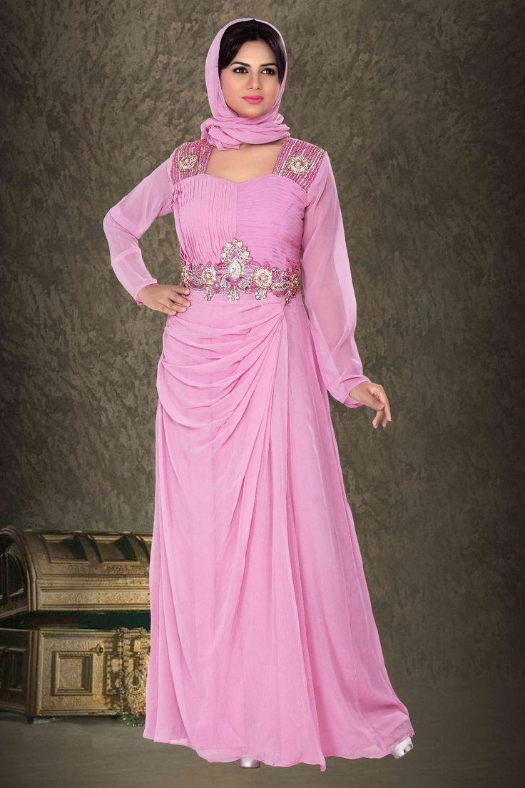 Farasha Moroccan Kaftan Dress Abaya Jilbab Islamic Kheleeji Sequins Arabian | eBay