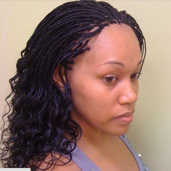 Micro Braids Hairstyles Tumblr