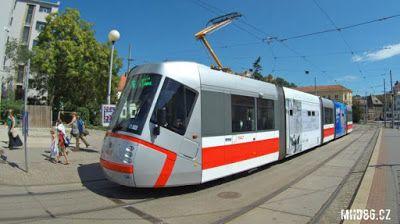 Praha Anděl: Brněnské tramvaje mažou koleje a jsou méně hlučné
