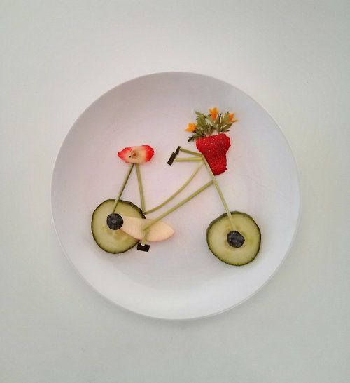 This guy's blog is amazing. Designs art out of food!