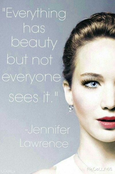 Jennifer Lawrence quote xx