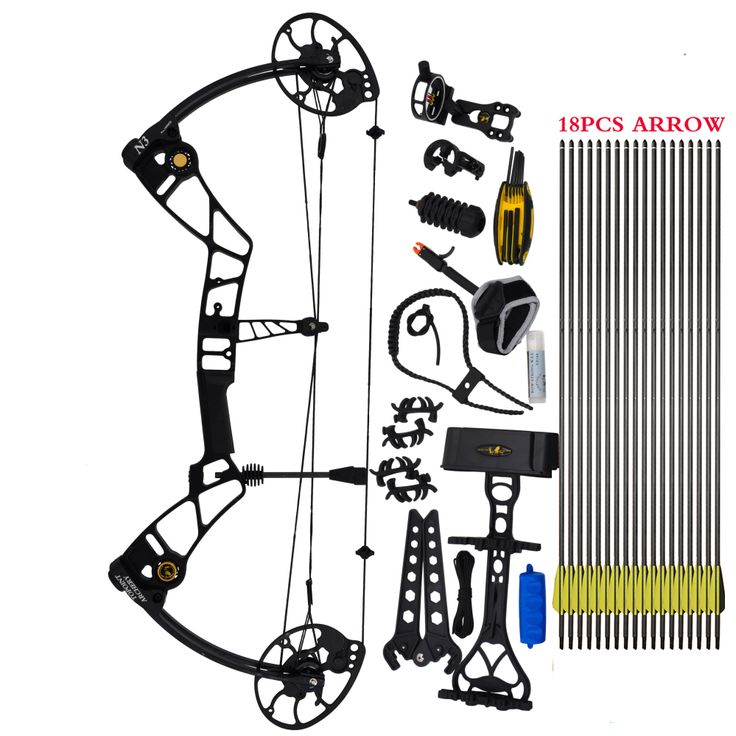 Topoint Archery Compound Bow package,N3,CNC milling Bow