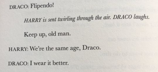 Harry Potter/Draco Malfoy; Harry Potter and the Cursed Child - J. K. Rowling/John Tiffany/Jack Thorne | Draco is so hilarious in this!!