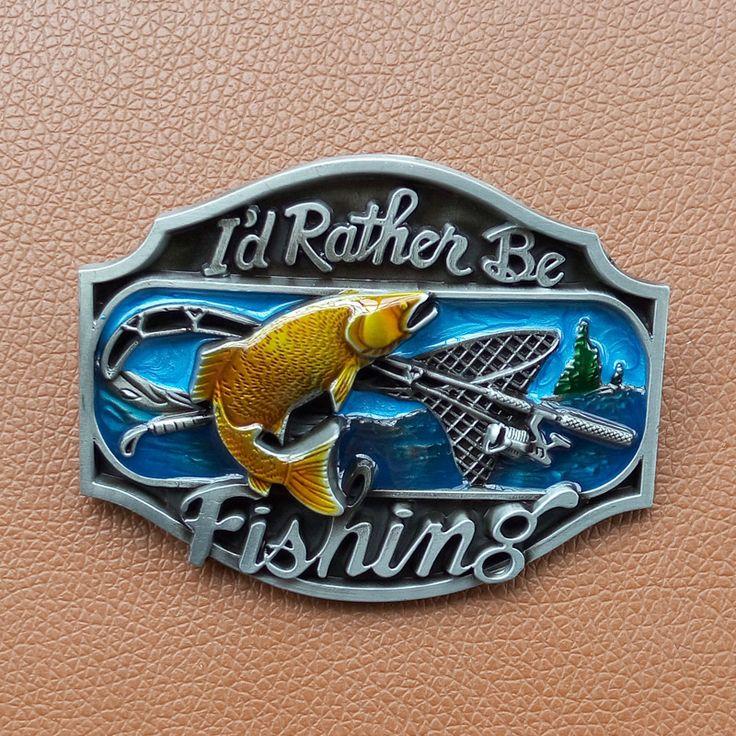 Новое Прибытие Я бы, Скорее, Рыбалка мужские Пояса Пряжки Для Мужской Модные Аксессуары Костюм Для Пояса Падение по Магазинам