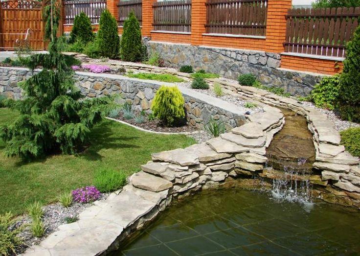 102 best idées de bassins et de fontaines extérieurs images on - fontaine a eau exterieur solaire