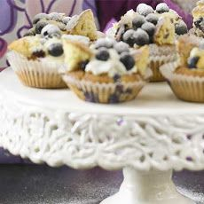 Blueberry Butterfly Cakes