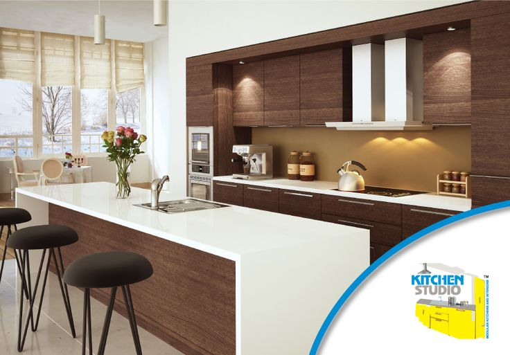 An island kitchen design that enhances the space available to you so that so you can do more!