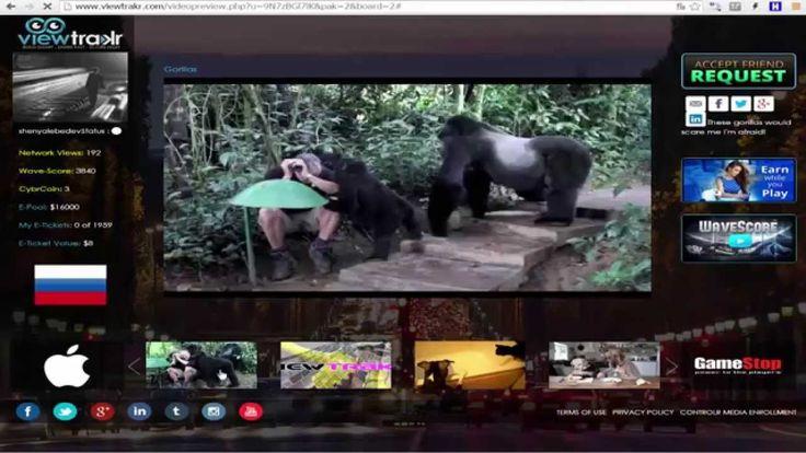 Viewtrakr Как делать просмотры видео1