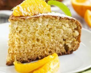 Gâteau au yaourt et à l'orange sans sucre
