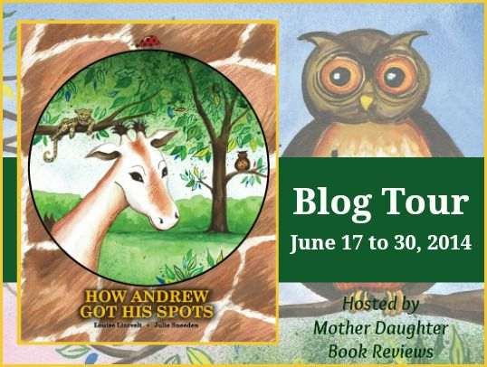 Book Tour, FREE Activities and a Rafflecopter Giveaway - How Andrew Got His Spots