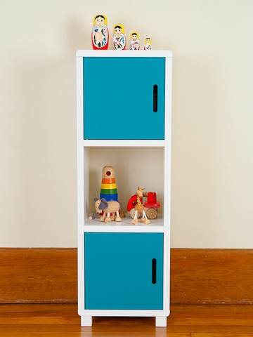 Mocka Storage Unit - Blue Doors
