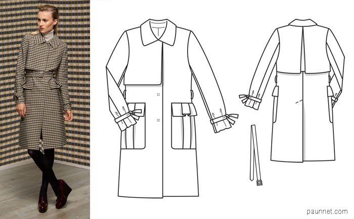 43 besten Sewing patterns outerwear Bilder auf Pinterest ...