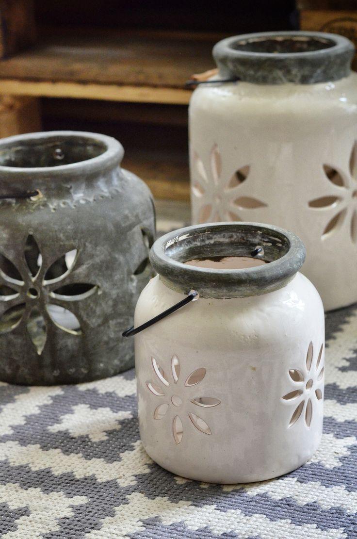 Ceramic lanterns <3