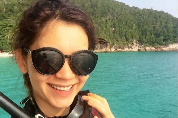 Julia Ziegler sedia dikritik akibat kongsi gambar berbikini di Pulau Redang
