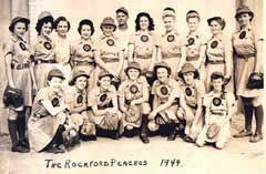 The real Rockford Peaches 1944 - A League of Their Own ♥