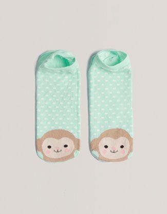 Calzino alla caviglia scimmia - Novità! - Oysho