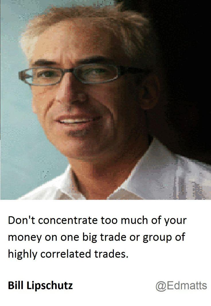 Bill Lipschutz's Views on Correlation