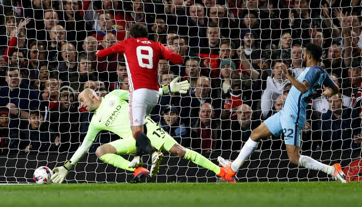 October 27 - Man United do just enough to beat an under-strength Man City as Juan Mata scores   winner in the EFL Cup