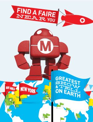 [Maker Faire, save the date - Pittsburgh Children's Museum Oct 11/12 2015.  Geared toward 5th grade & up, but all ages would enjoy.]  MakerFaire   Make • Create • Craft • Build • Play