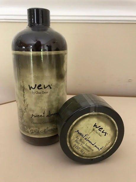 WEN CHAZ DEAN SWEET ALMOND MINT CLEANSING CONDITION & INTENSIVE HAIR TREATMENT #WEN