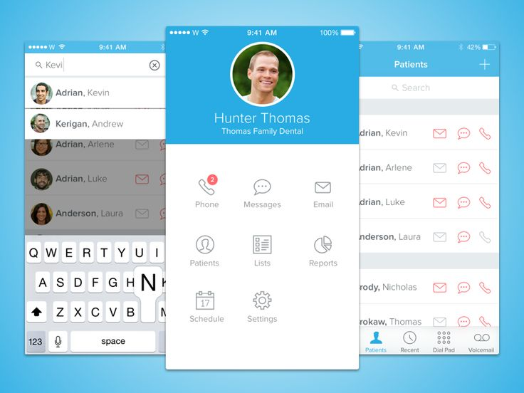 Dental App by Casey Childs for HQ