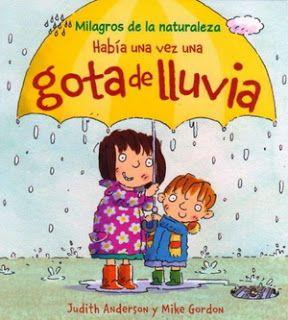 Actividades para Educación Infantil: SEMANA DEL CUENTO 7. Había una vez una gota de lluvia