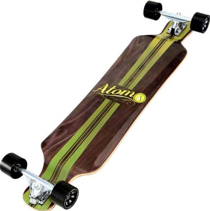 Bamboo Mapple Drop Deck 39-Inch Longboard Skateboard Outdoor Sports Equipment #LongboardSkateboard