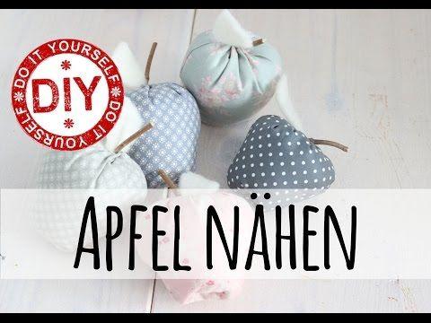 How To I Apfel nähen (toll für Anfänger geeignet) I Deko Inspirationen Selbstgemacht - YouTube