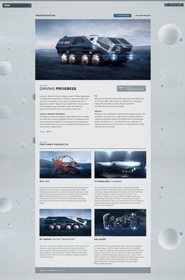 Prometheus - Digital Campaign on Behance