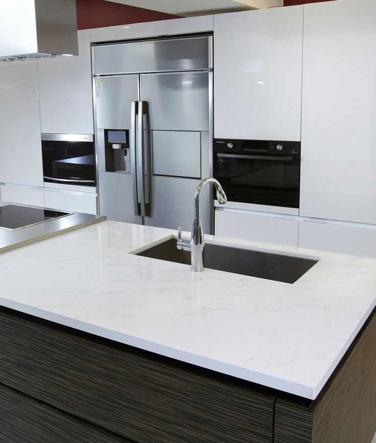 Quartz Kitchen Ideas: Countertops Ordered: Hanstone Tranquility. Two New