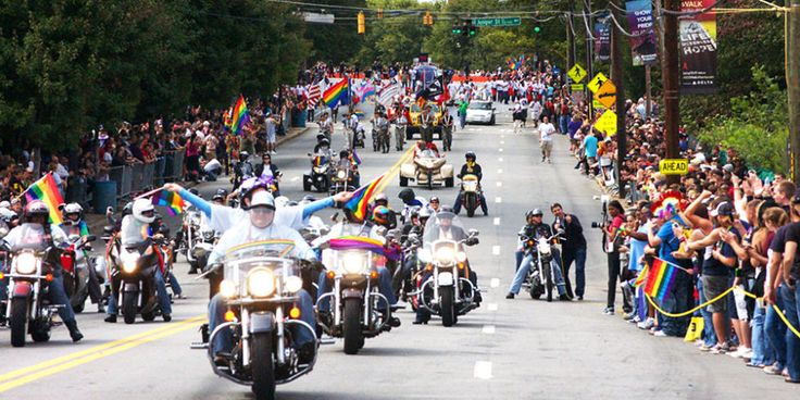 The Southern city has pride events the entire month of June (such as the Indie Lens Pop-Up Film screenings and the Victor Victoria burlesque show), but its annual pride parade will be held in October during the Atlanta Pride weekend, October 13-15, 2017. The pride weekend is tied to National Coming Out Day (October 11) and is usually centralized around Piedmont Park, where the parade has traditionally ended each year since 1971.