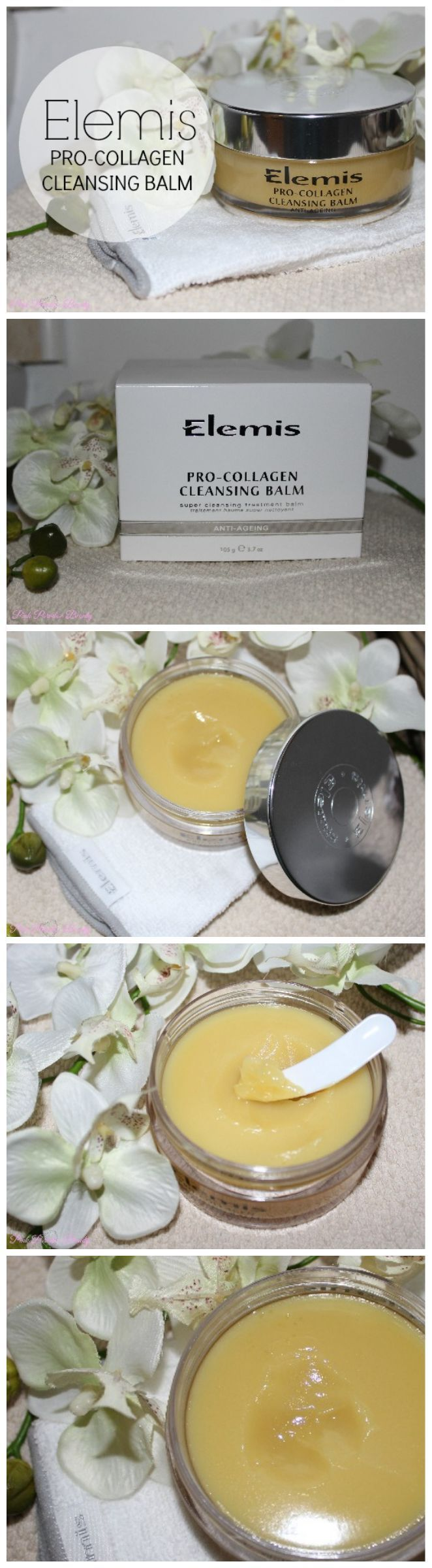 Elemis Pro-Collagen Cleansing Balm, Review and Photos http://pinkparadisebeauty.blogspot.co.uk/2015/03/elemis-pro-collagen-cleansing-balm.html