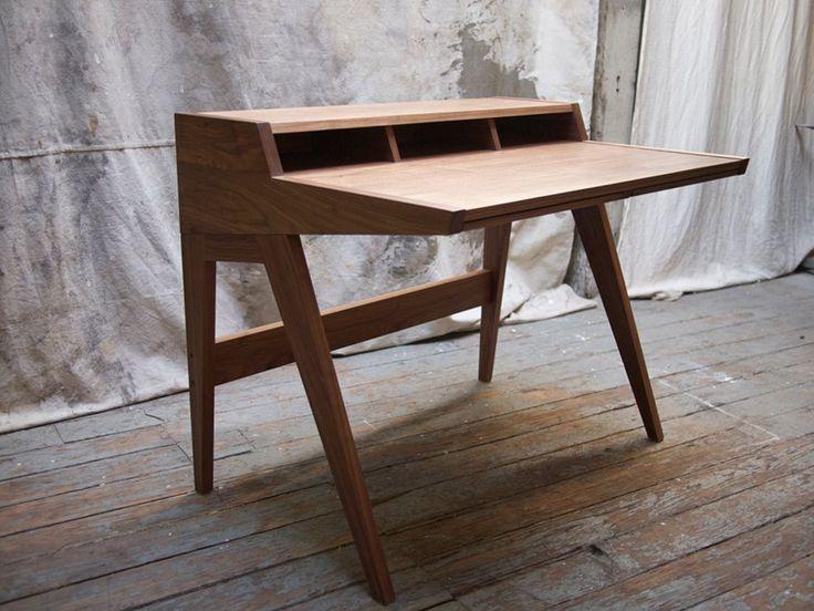Laura Desk Is A Minimal Design Created By USA Based Designer Phloem Studio.  Phloem Studio, Located In Portland, Oregon, Designs And Builds Custom  Furniture ...