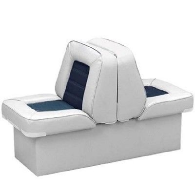 BOAT BACK TO BACK LOUNGE SEAT fishing seats PICK YOUR COLOR