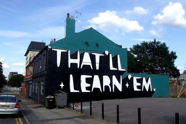 Kid Acne - 'That'll Learn 'Em', Sheffield.