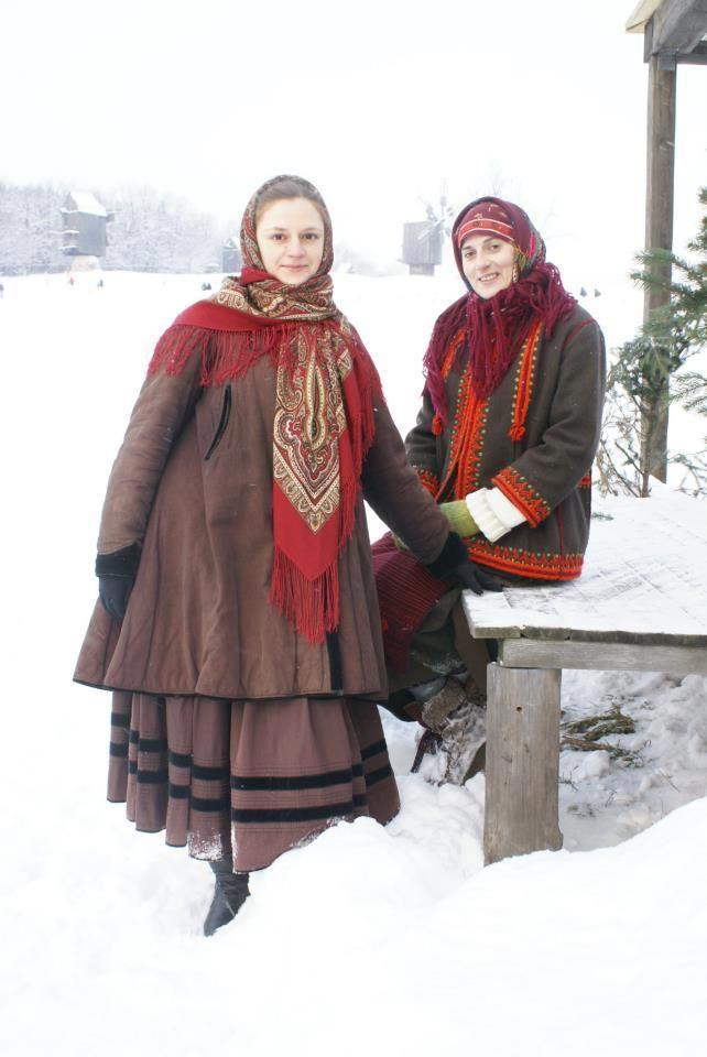 Winter in Ukraine, from Iryna