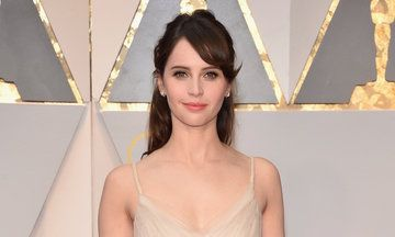 Oscars 2017: Felicity Jones Looked Like A Real Life Disney Princess On The Red Carpet | The Huffington Post