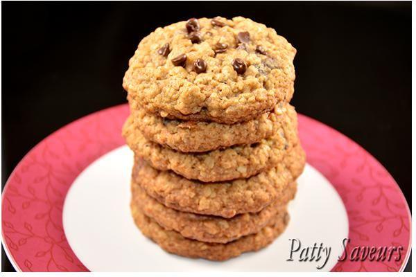 Cookies+à+l'Avoine,+Fruits+secs,+Pécans+et+Chocolat