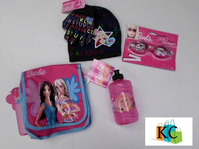 Barbie Beanie set, Lunch bag, Drink bottle, Goggles $62.00 Layby Welcome on All Sets.. $10 per week