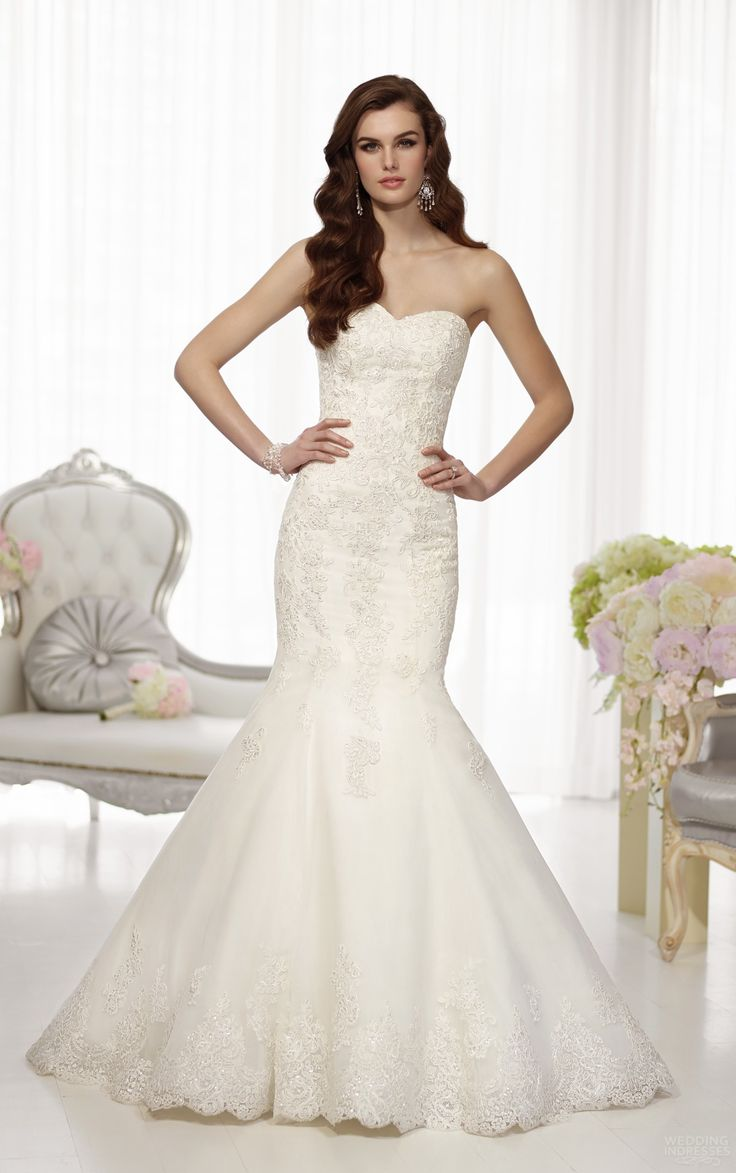 low cost wedding dresses in atlantga%0A Bridalgowns Mermaid Sweetheart Appliqued with Removable Train Tulle Lace Wedding  Dresses
