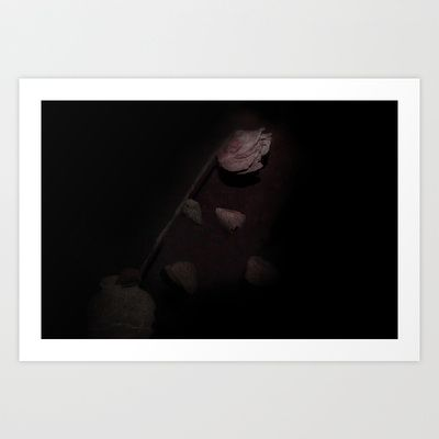 Oblivion Art Print by Oscar Tello Muñoz - $19.00