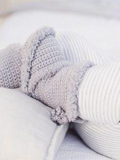 DIY-Anleitung: Babys erste Stiefel häkeln via DaWanda.com