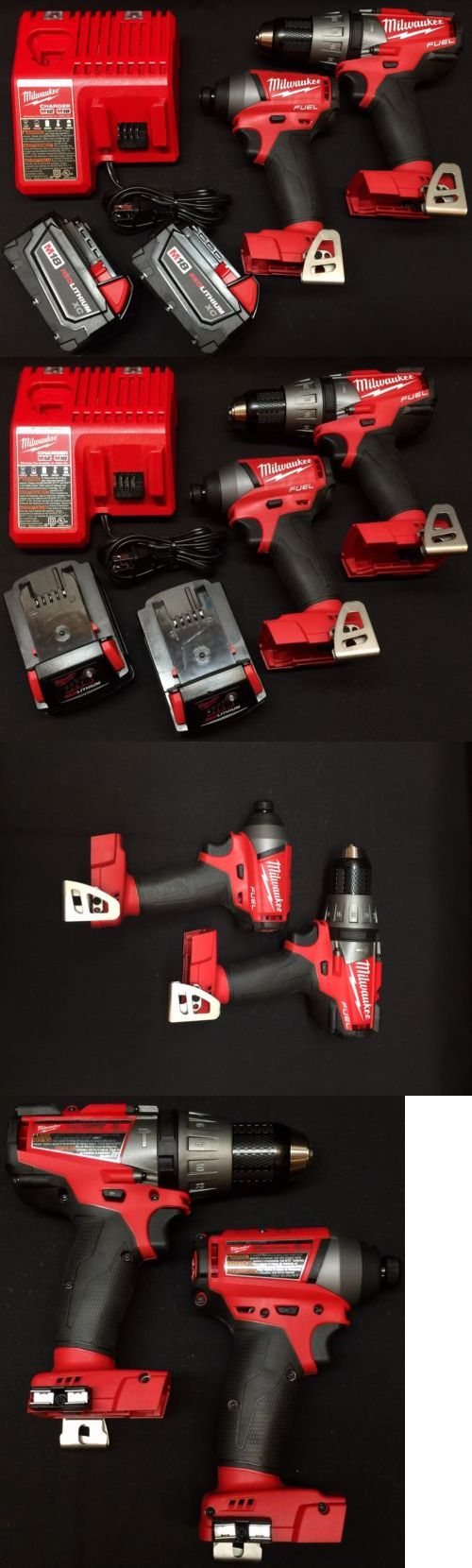 Combination Sets 177000: Milwaukee 2704-20 M18 Fuel Cordless Li-Ion 2-Tool Combo Drill Impact Bundle -> BUY IT NOW ONLY: $249.99 on eBay!