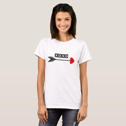 xoxo hugs n kisses tshirt - girlfriend love couple gift idea unique cool