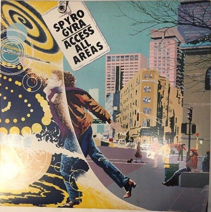 SPYRO GYRA-ACCESS ALL AREAS 1984 MCA RECORDS 2 LP'S MCA2-6893 VG++ JAZZ FUSION!! #JazzFunkFusion